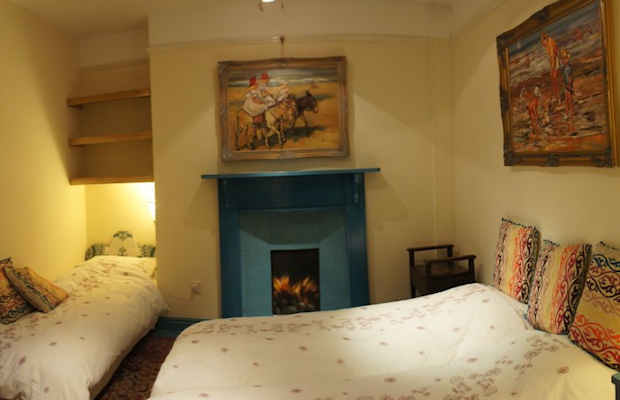 Kilda house sleeps 6 7 in total this bedroom has a kingsize, plus one single or 3 singles