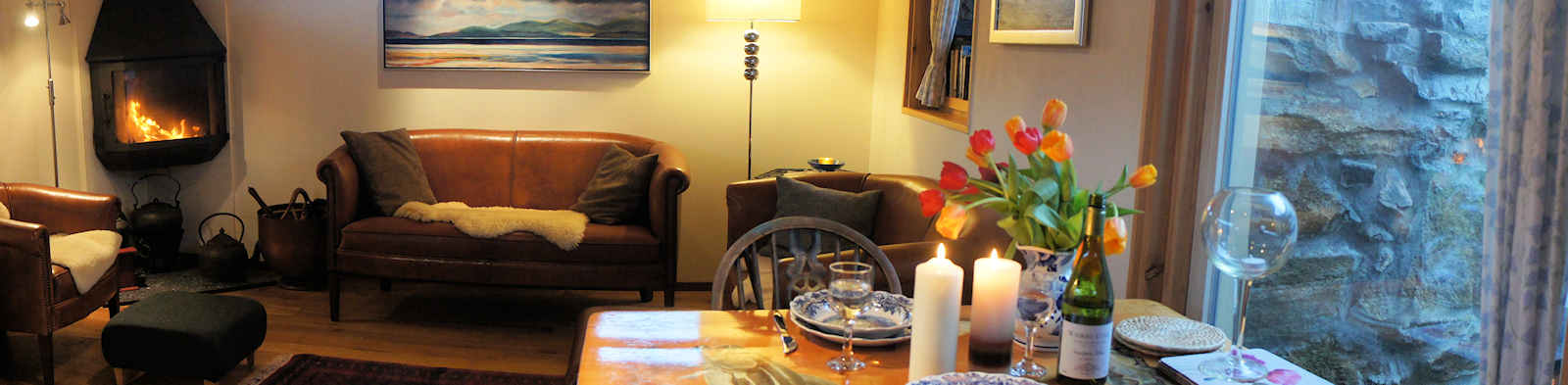 four star luxurious selfcatering cottage at Harris