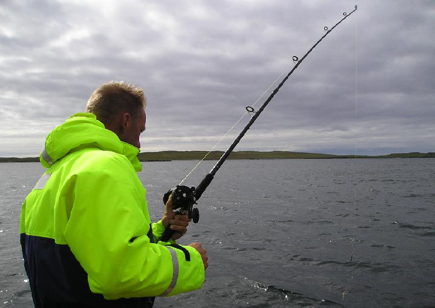 Flyfishing on Isle of Harris Scotland